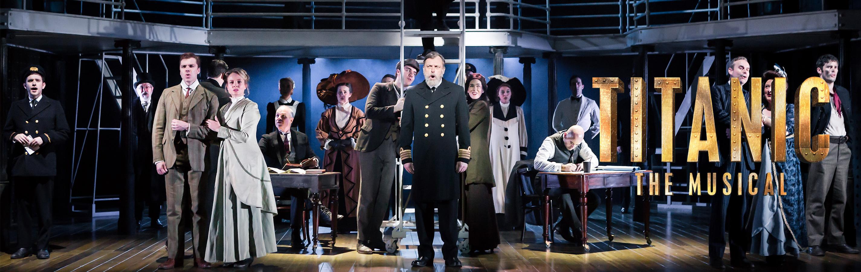 Titanic The Musical Header