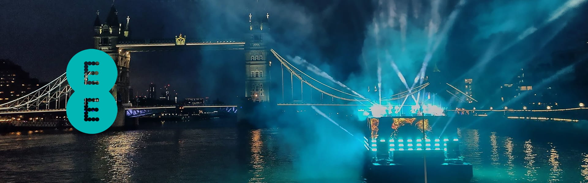 EE 5G Launch on the River Thames in London
