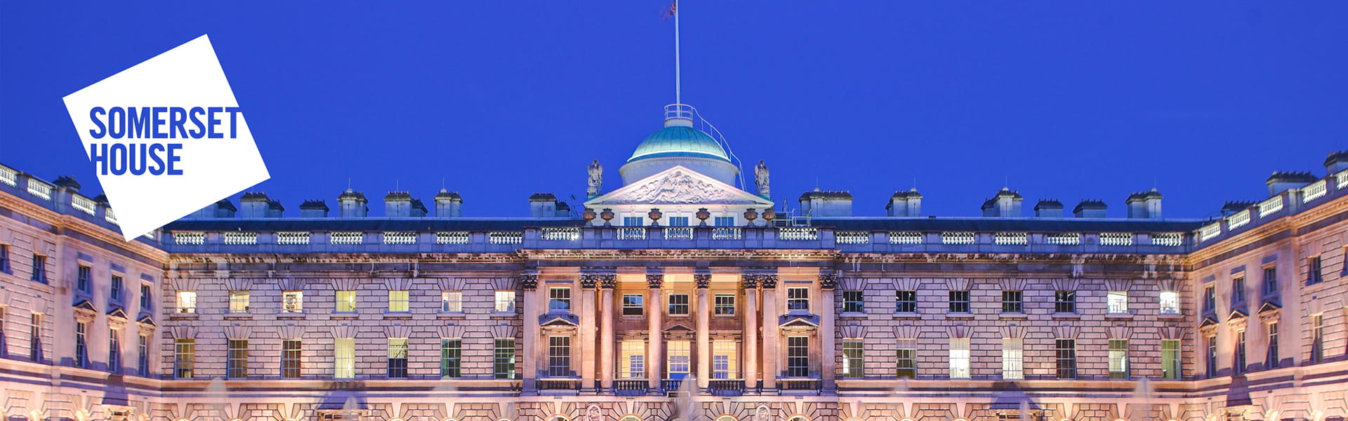 Somerset House in the heart of central London