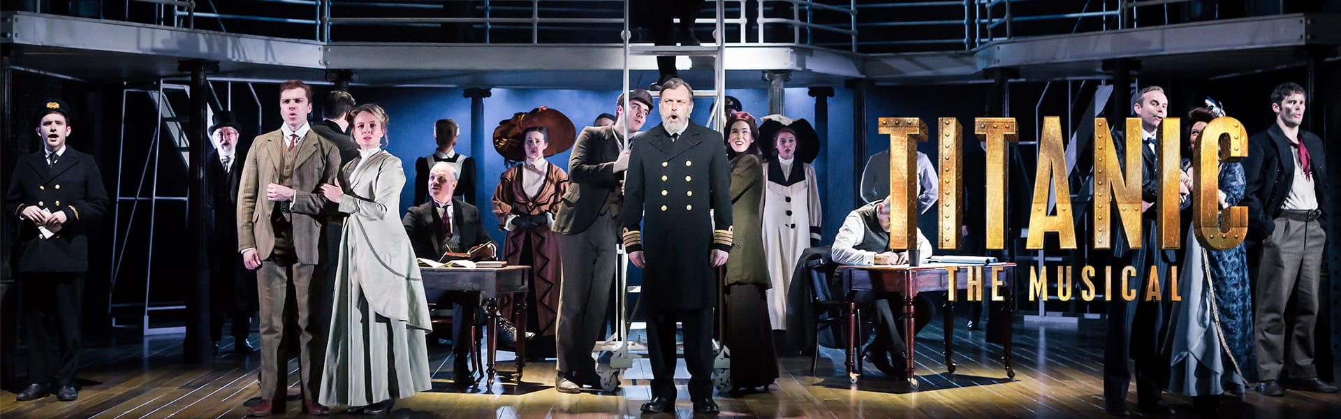 Titanic The Musical Embarks on its International Tour